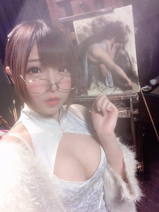 ぴぐ魔女様のTwitter自撮りエロ画像9