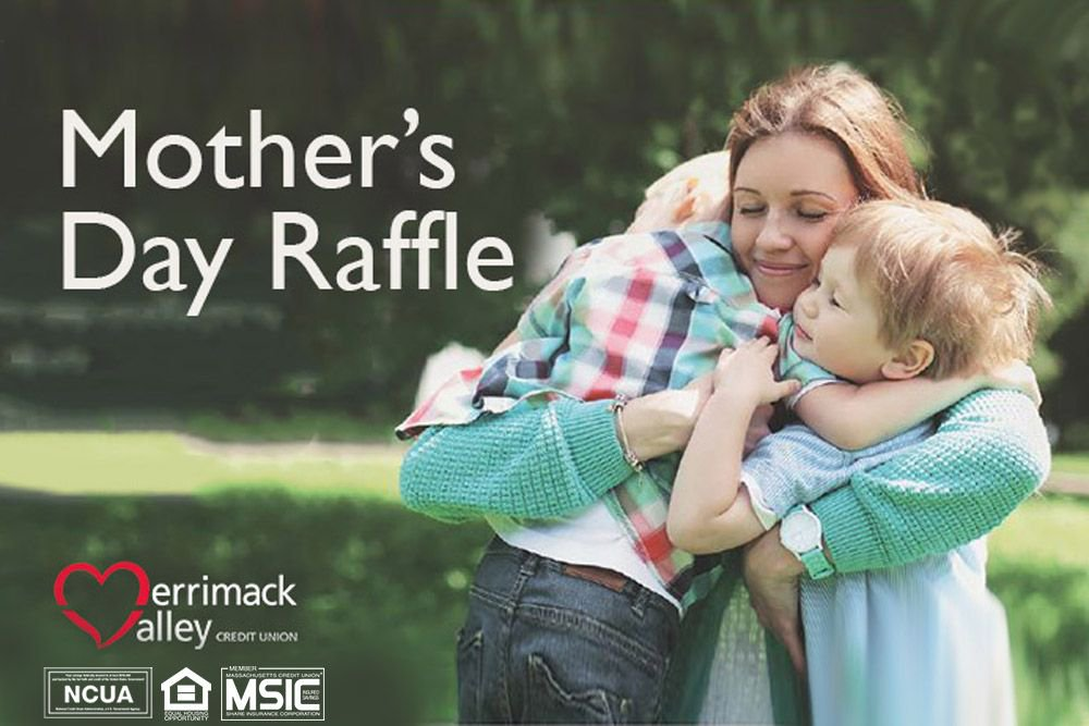 Merrimack Valley Credit Union is holding a #raffle for ten (10) $50 Visa gift cards! It is free to enter and you don't have to be a mom to enter.
