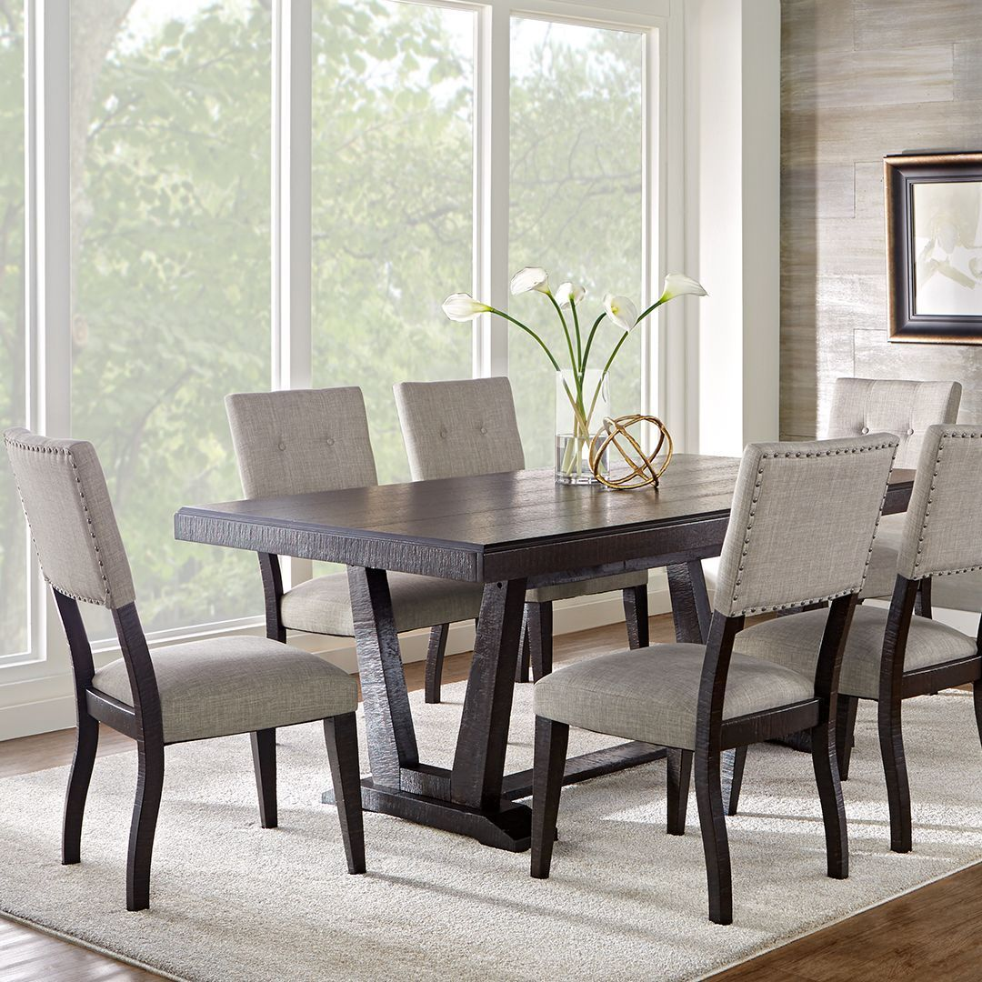 Rooms To Go On Twitter This Dining Room Is Sure To Impress Roomstogo Home Homedecor Decoratingseasy Rtg Buytheroom Hillcreek Diningroom Diningarea Diningset Diningspace Rustic Rusticfurniture Nailhead Nailheadtrim Https T Co