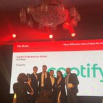 🔥What a night! 🔥Delighted to win 'Most effective use of Data for Creativity' at the @TheDrumAwards last night with our boundary-pushing clients, @MediaComUK & @Bose