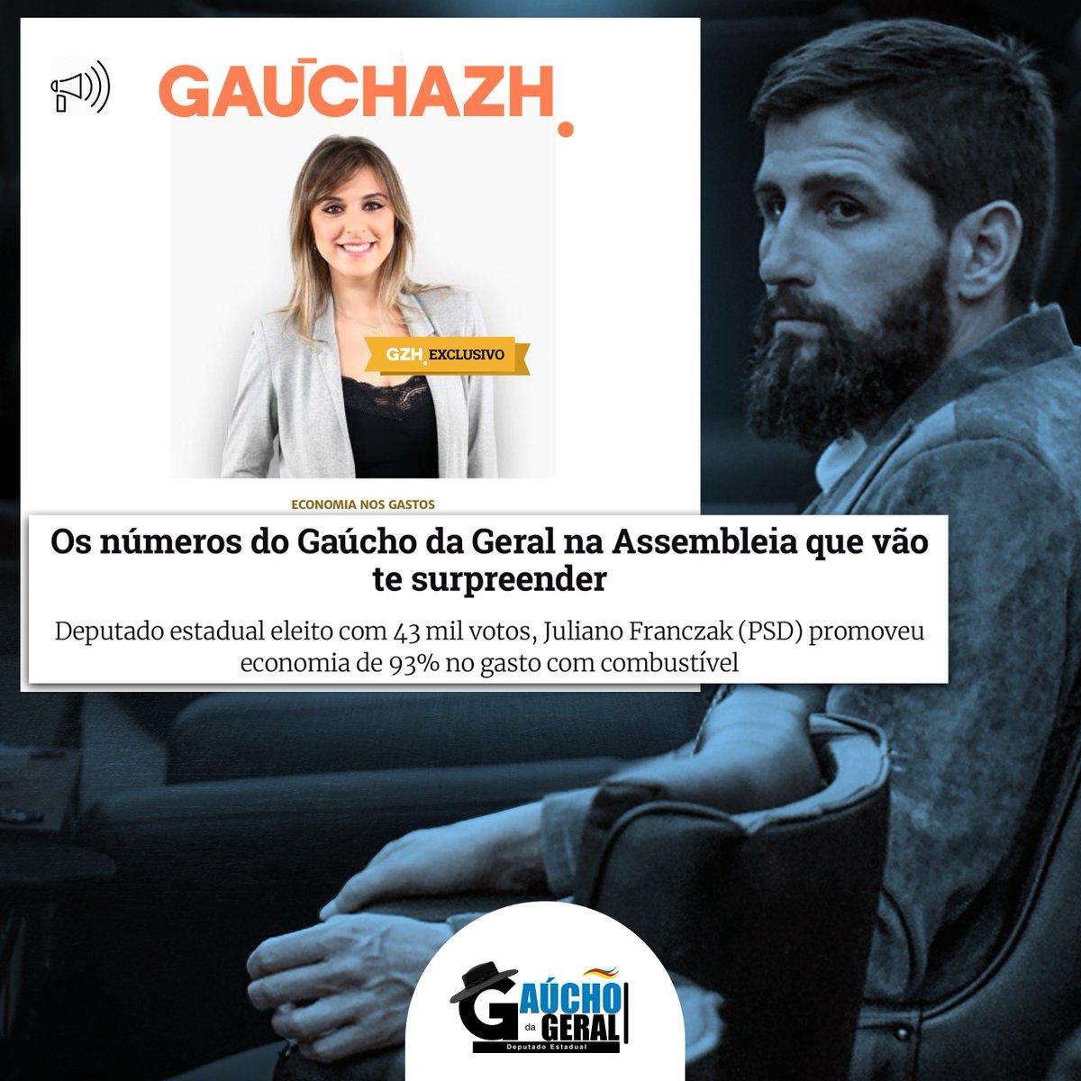 A transparência com o povo gaúcho e a economia do dinheiro público do meu mandato foram destaque no @GauchaZH desta quinta-feira.  Leia mais clicando aqui: https://t.co/ZwgWgEQ6Tp  #GaúchodaGeral #GaúchodoRS https://t.co/xfWHo7QwL8