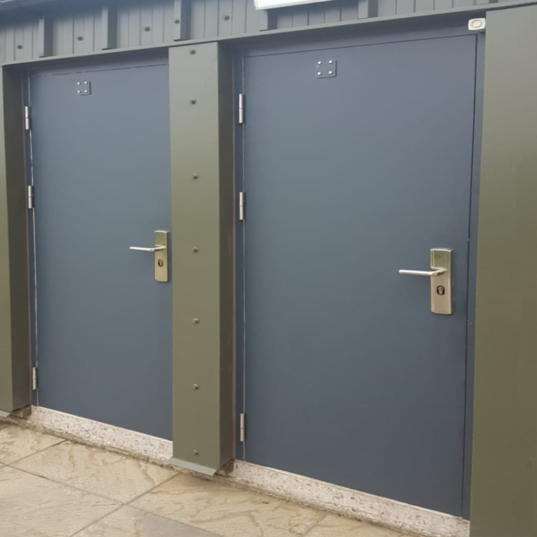 Our Budget Steel Doors Are Most Cost Effective Door But Still Featuring Hooply 19 Point Locking Mechanism Http Ow Ly 4tq850rlps4 Steeldoors