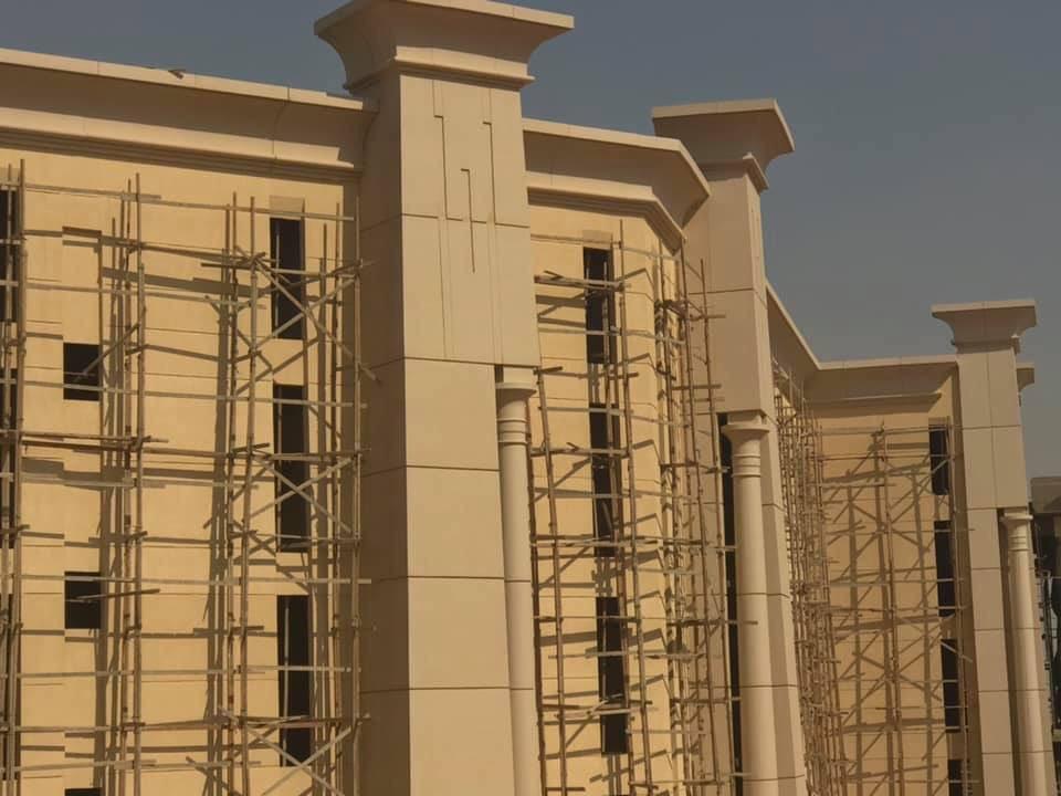 The Octagon :  مقر جديد لوزارة الدفاع المصرية  في العاصمة الإدارية الجديدة D5klGH0W0AEe4uN