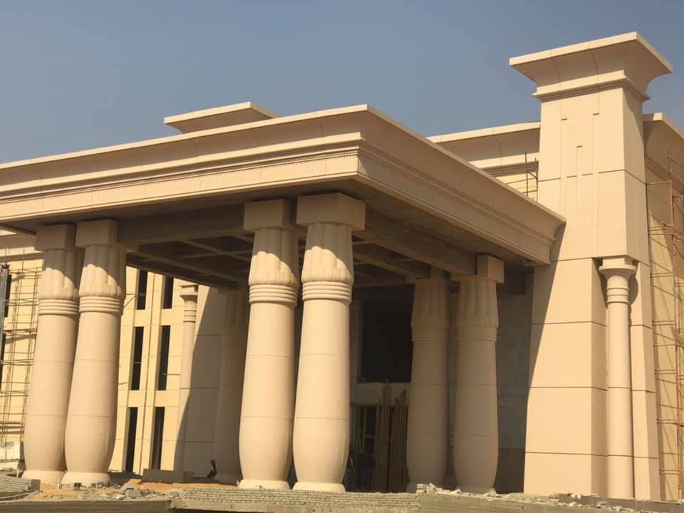 The Octagon :  مقر جديد لوزارة الدفاع المصرية  في العاصمة الإدارية الجديدة D5klGHjXkAEaW7w