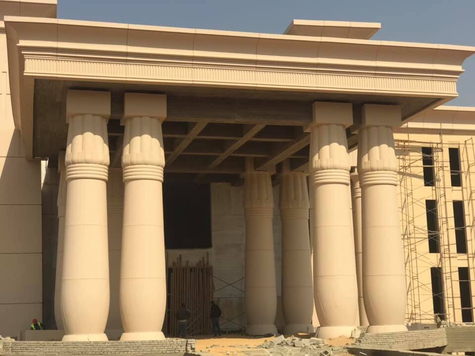 The Octagon :  مقر جديد لوزارة الدفاع المصرية  في العاصمة الإدارية الجديدة D5klGHqWsAEK0aQ