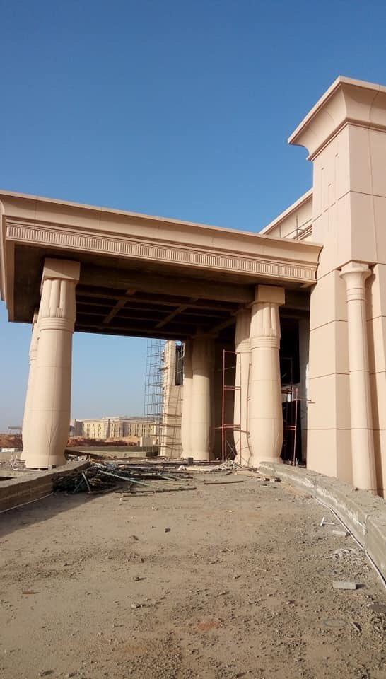 The Octagon :  مقر جديد لوزارة الدفاع المصرية  في العاصمة الإدارية الجديدة D5klGIQX4AEq5l9