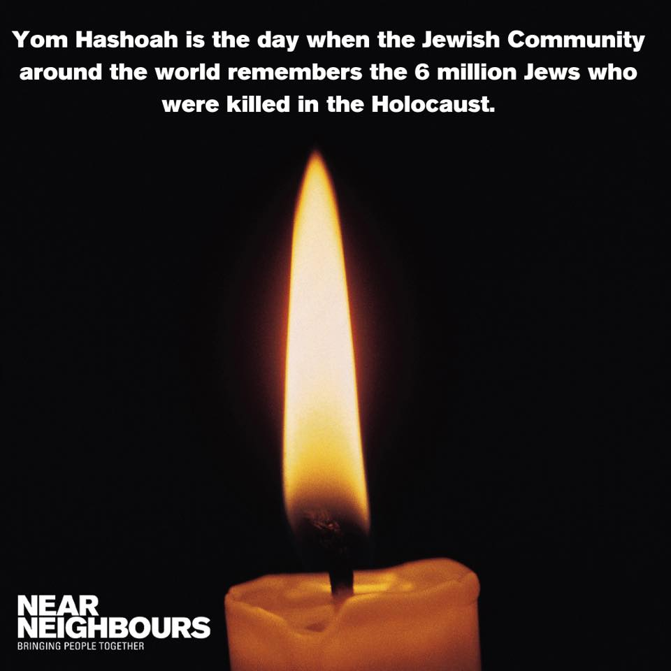 Today we are close to our Jewish friends in remembering six million innocent people killed during the #Holocaust, just because of their faith. Today we commit to stand against any form of hatred, prejudice, violence and against all manifestations of #antisemitism. #YomHaShoah