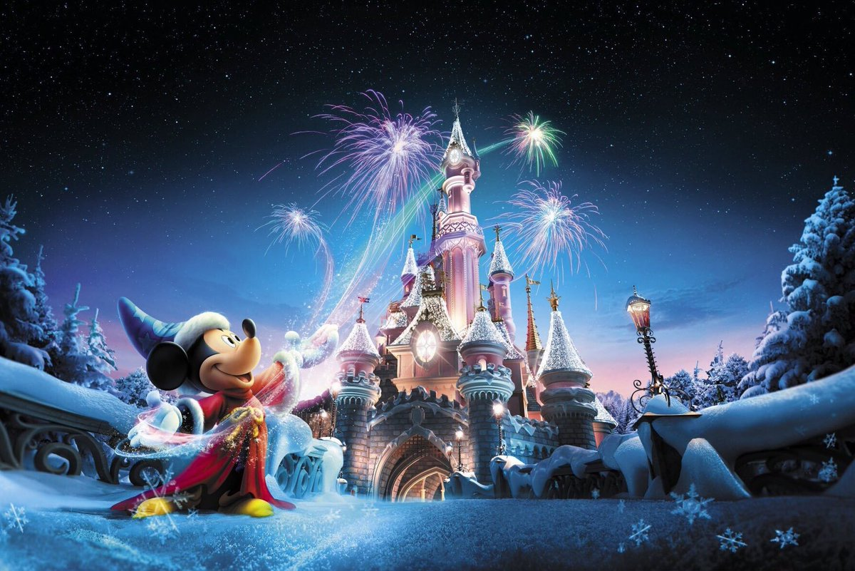 Disneyland Paris At Christmas 2019.Ed92 On Twitter Disneyland Paris Enchanted Christmas