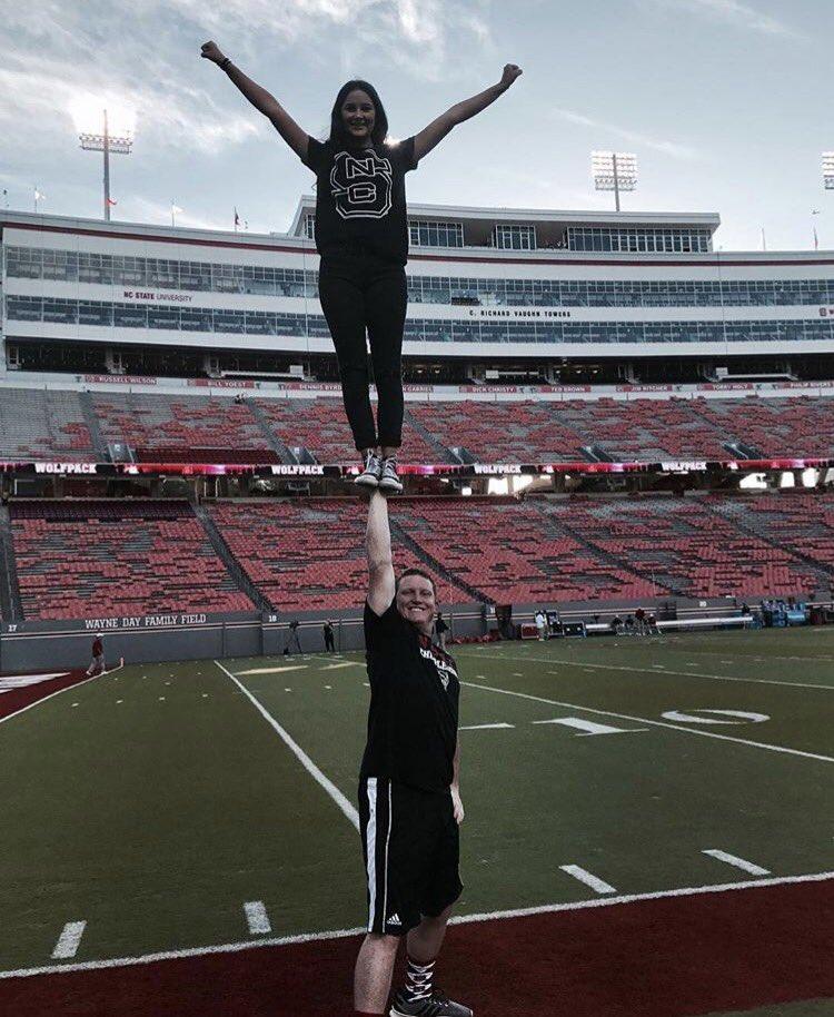 2d5e62da5ca21 NC State University and NC State Cheerleading