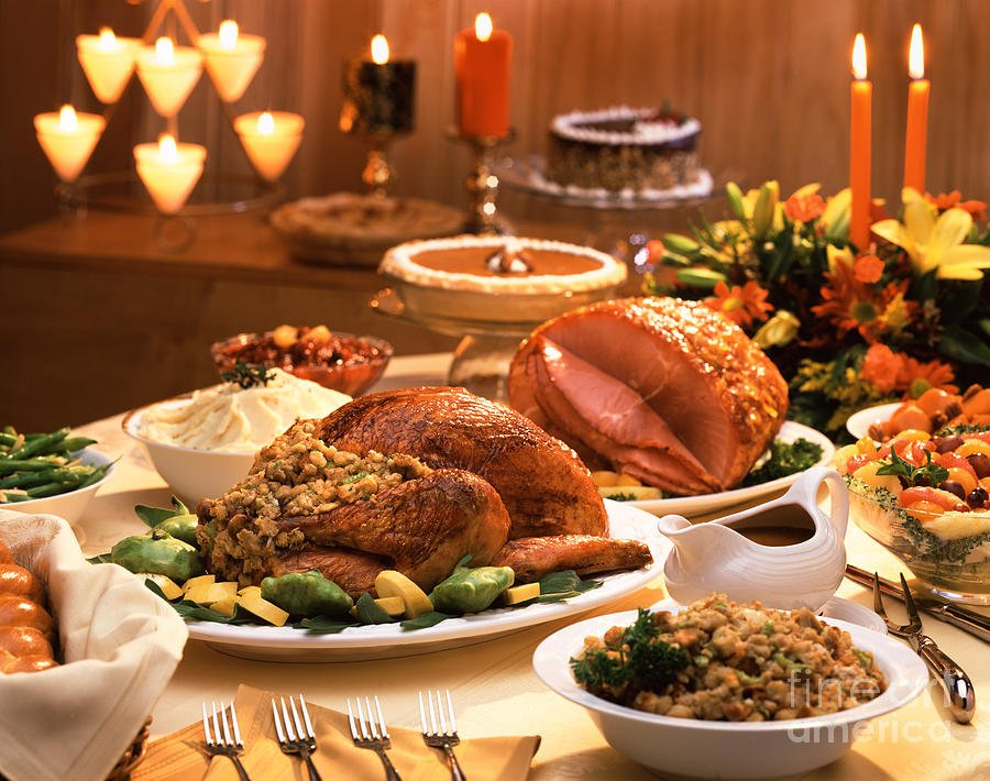 thanksgiving food pictures - 736×580