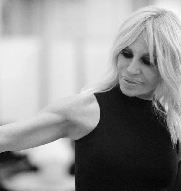 """Happy Birthday, Donatella Versace (born 2 May 1955~). \""""Fashion is a weapon that you can use when you need it.\"""""""