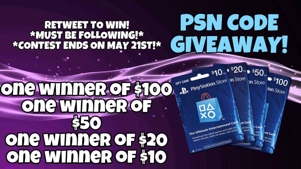 PSN Code Giveaway (@PSNCodeGiveaway) | Twitter