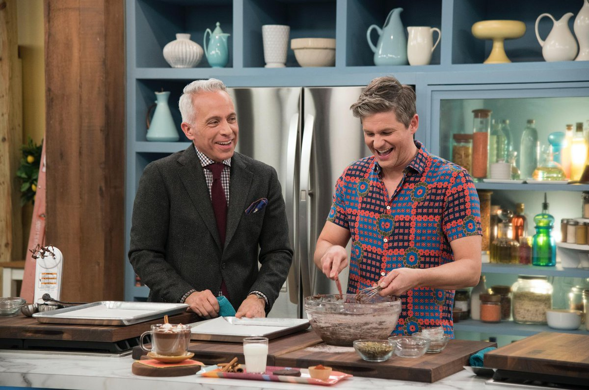 .@davidburtka is transforming Mexican Hot Chocolate into a spicy-sweet baked treat, today at 11am EST on #TheKitchen