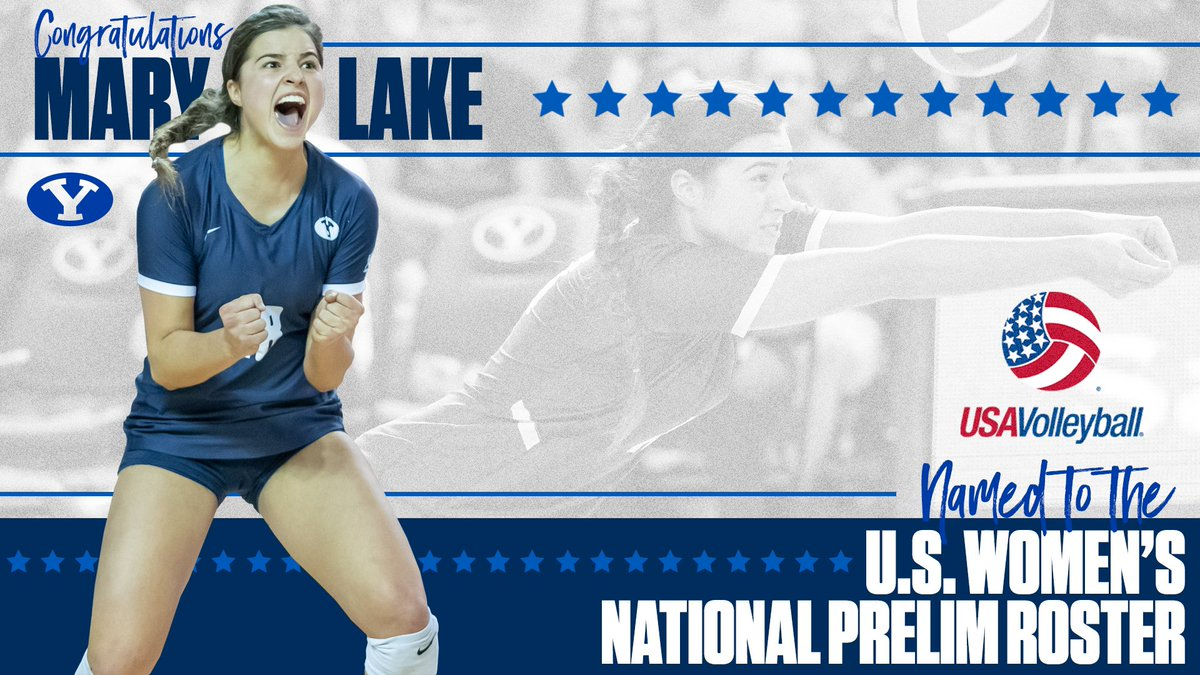 Byu Women S Volleyball On Twitter Mary Lake Is A Part Of A 30 Player Preliminary Roster For The 2019 Premier Annual International Volleyball Tournament With Usavolleyball This Summer Good Luck Marybeth181124 Full Story