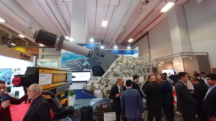 مدافع كهرومغناطيسيه تركية جديدة تحل محل الاسلحة النارية التقليدية..تتمتع بقوة دفع تعادل 5 أضعاف سرعة الصوت D5lKUlWXoAEzvus