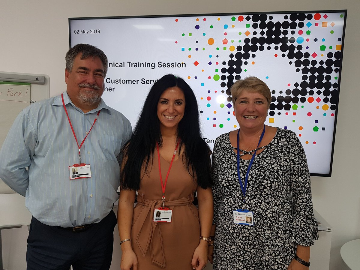 What a great day at the Independent End-Point Assessor training day for our new Customer Service IEPAs delivered by our amazing LIEPAs and Associate Manager for Customer Service EPA @cityandguilds