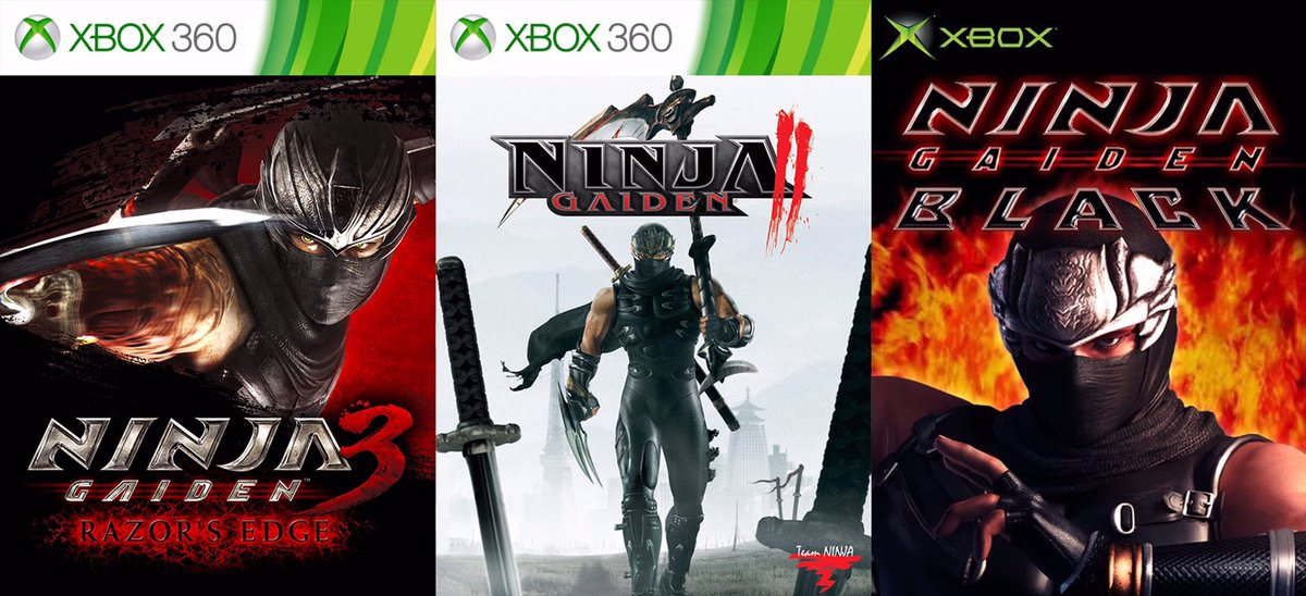 Team Ninja On Twitter Play The Entire Ninja Gaiden Trilogy