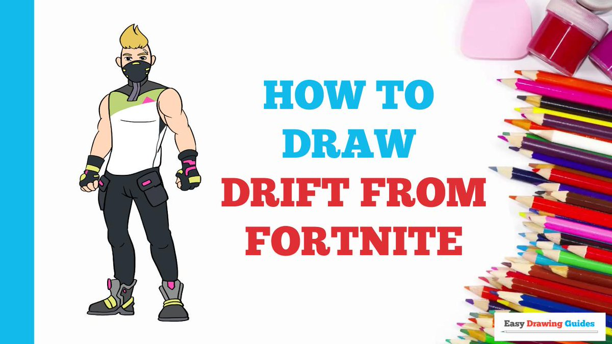 Easy Drawing Guides On Twitter How To Draw Drift From