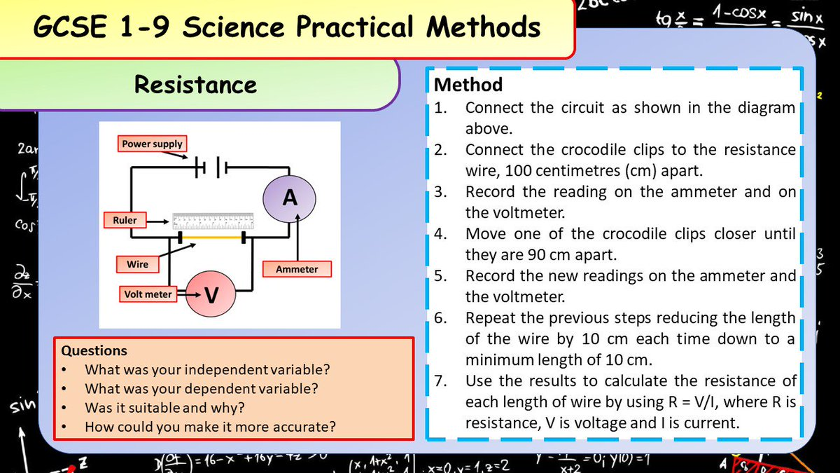 Get students to revise required practical methods to help them answer long answer questions! #ukedchat #revision #gcse #science #nqtchat #ittchat #aussieED #edchat #aqabiology #aqachemistry #aqaphysics