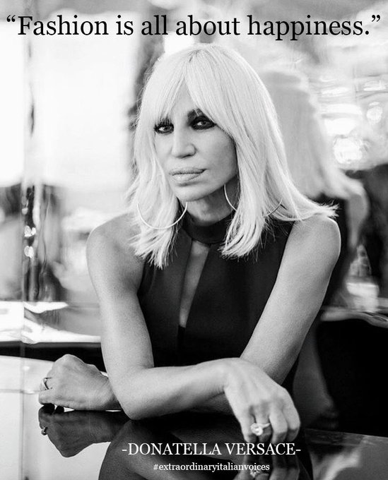 Happy birthday, Donatella Versace!