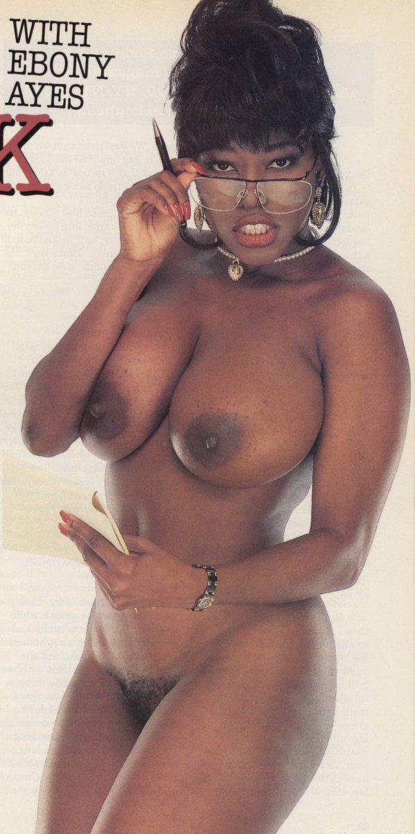 Ebony Ayes Nude