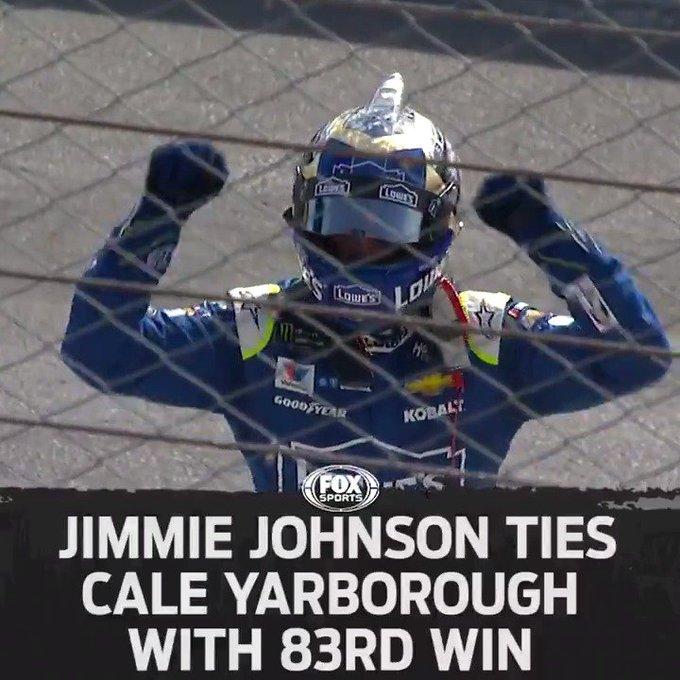 83 wins. 7 championships. Happy Birthday to Jimmie Johnson.