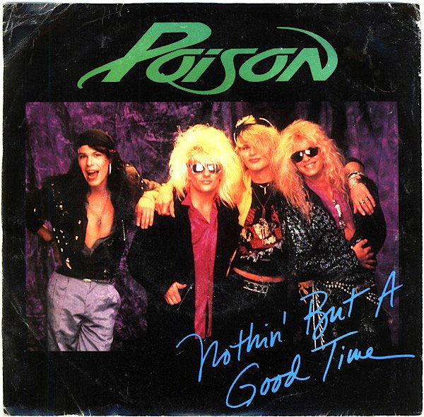 "Planeta80 on Twitter: ""En el Aire @planetaochenta a través de  UfroRadio89.3Fm o https://t.co/fMEKCq3r05 PortadaMusical ""Poison-Nothin'ButaGoodTime""  Hoy retransmitimos RetroCountDownBillboardHot100 semana 23/abril/1983.  Recuerden hoy regalamos el Vinilo ..."