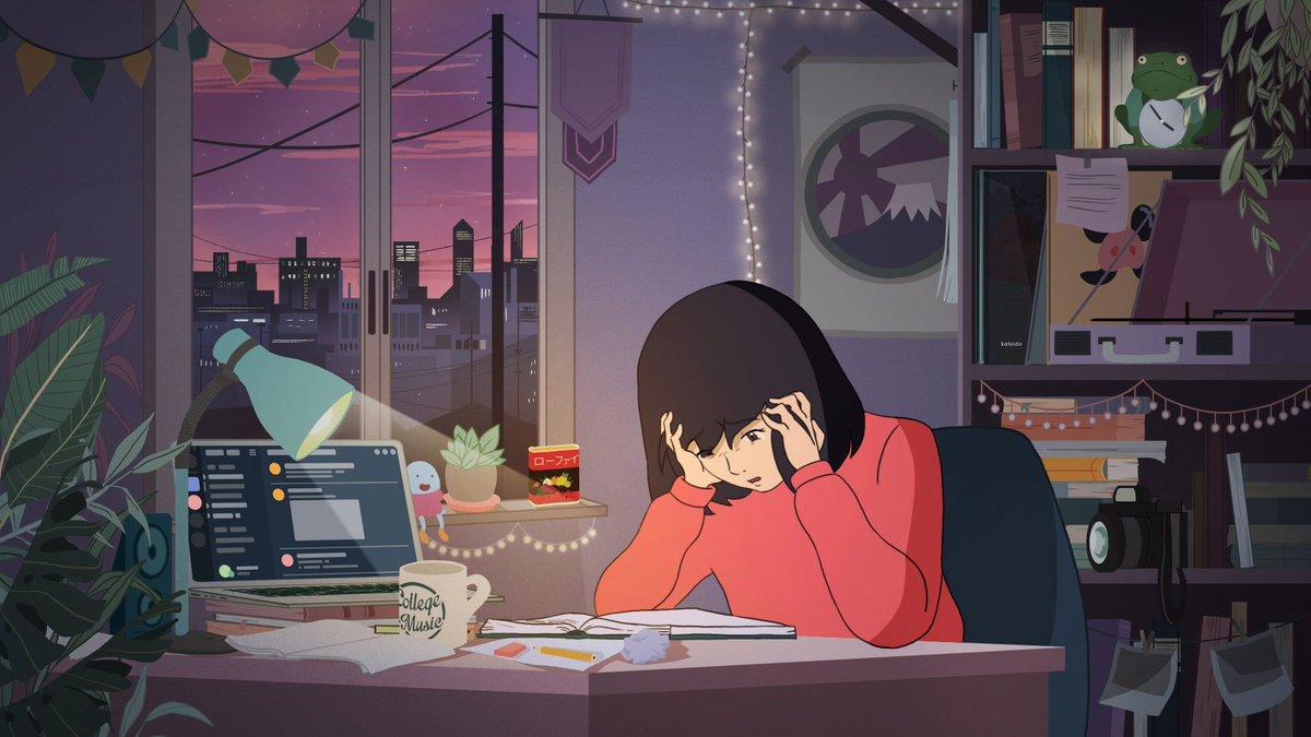 "Tim Nudd على تويتر: ""Why ""Study Girl,"" anime star of an infinitely"
