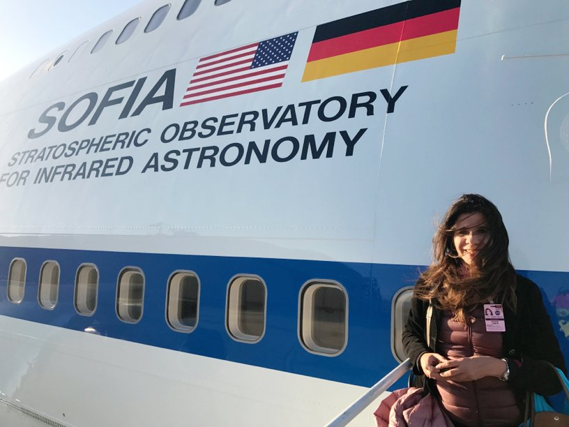 Thank you @sofiatelescope for welcoming me onboard as Guest Observer (GO). It was an amazing experience! Looking forward to more great science.