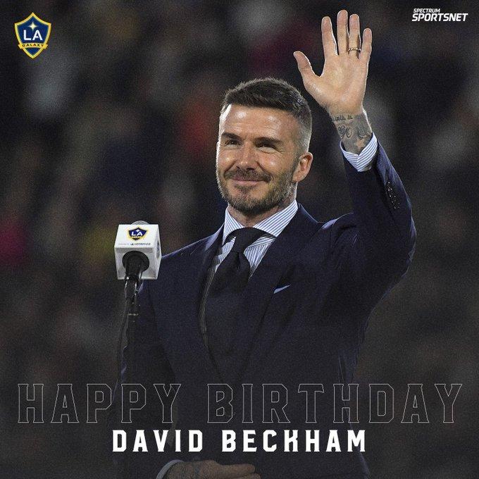 44 never looked so good.  Happy Birthday to great, David Beckham!