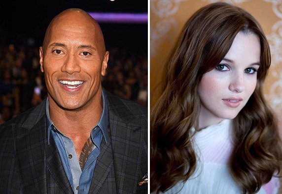 HAPPY BIRTHDAY !  Dwayne Johnson  and  Kay Panabaker