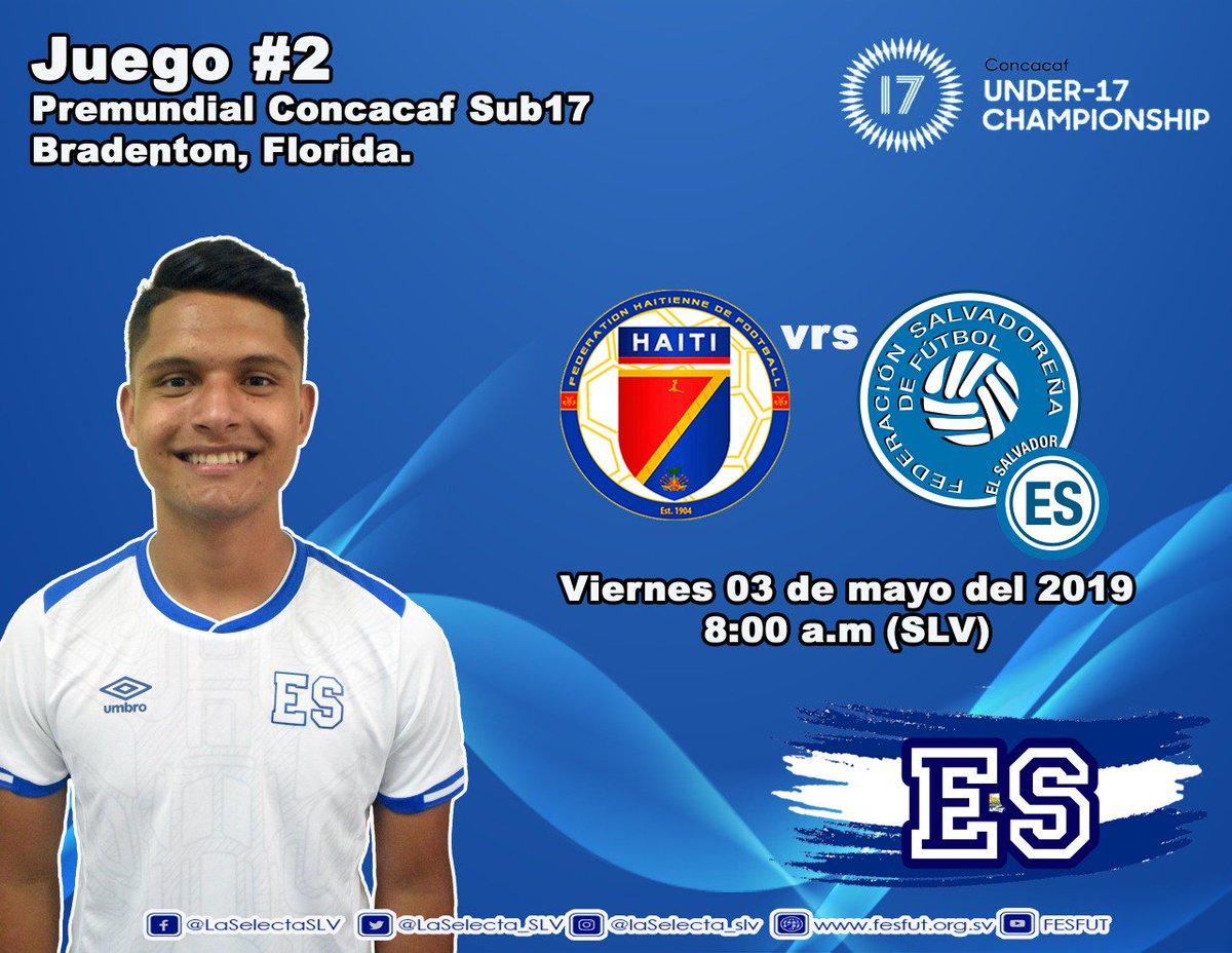 Sub17 Campeonato CONCACAF 2019 [Juego contra Haiti]. D5mLPvuWkAUjG1F