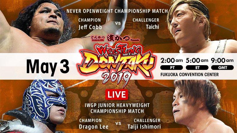NJPW: Wrestling Dontaku 2019 Día 1 Taichi triunfa, Dragon Lee retiene 2