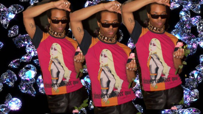 Check out my insta ( the_johntuff1) to see the full shoot    happy birthday to a living ICON Donatella Versace