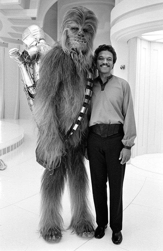Much more than Chewie to me...My heart hurts…I will miss you my dear friend…thanks for the great memories! #RIPPeterMayhew #StarWars