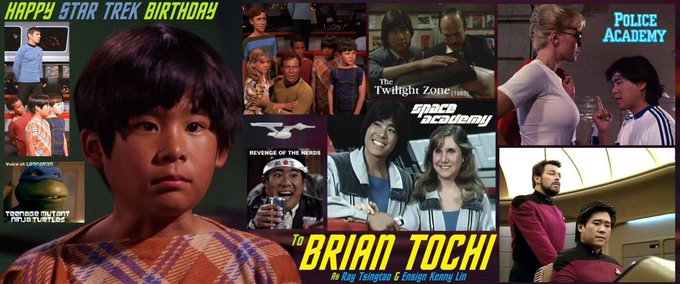 Happy birthday Brian Tochi, born May 2,1959.