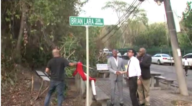 Happy Birthday Brian Lara! Batting legend gets street named after him  WATCH: