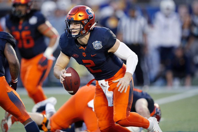 Eric Dungey will start NFL career with New York Giants