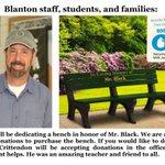 Image for the Tweet beginning: In honor of Mr. Black.