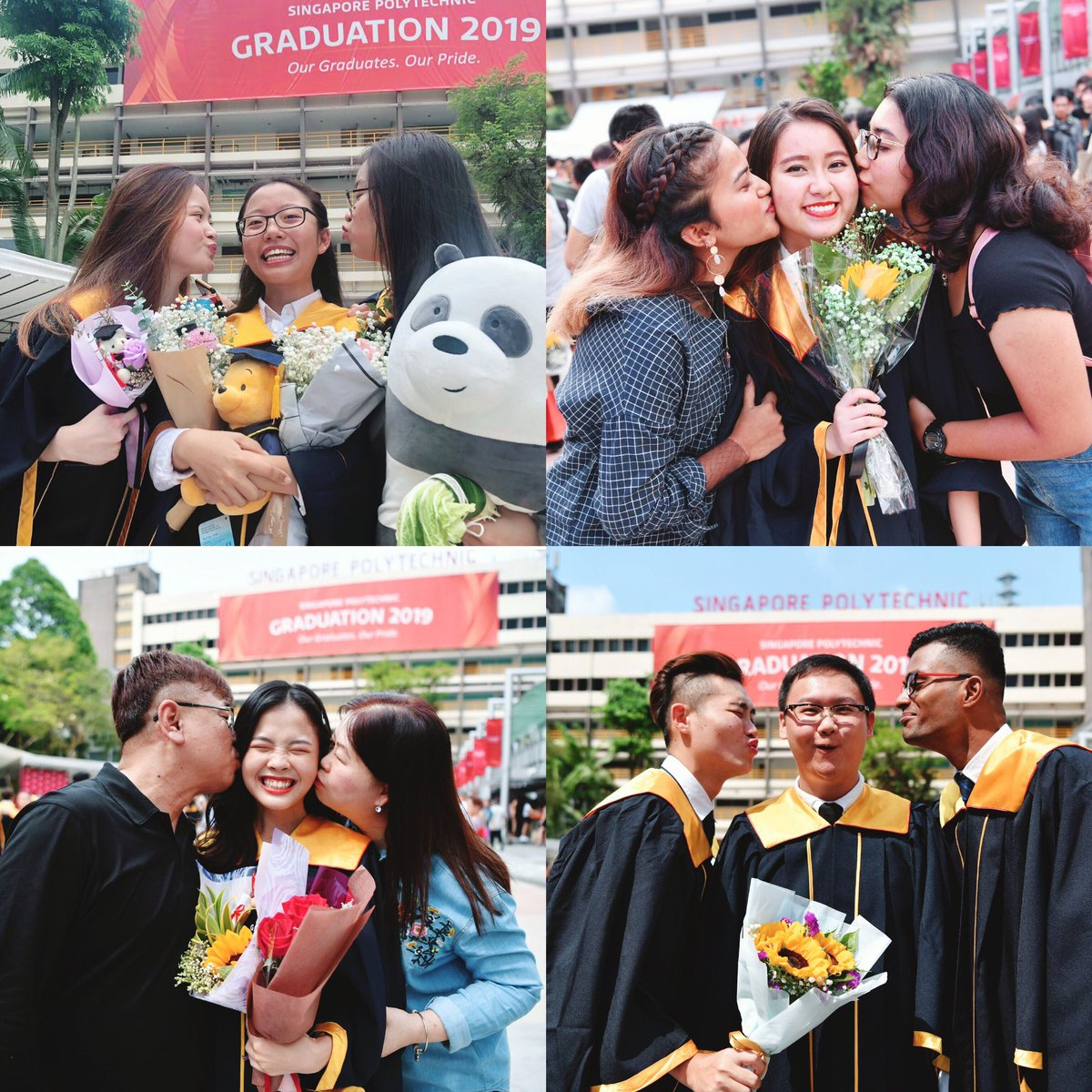 It's day  of graduation! Featuring our Business School graduates  Don't be shy to show your love and appreciation for your #SPfam!  Remember to tag @singaporepoly on your IG stories to be featured! #speye #singaporepoly #SPGrad19 pic.twitter.com/ZKtU8qe0kl