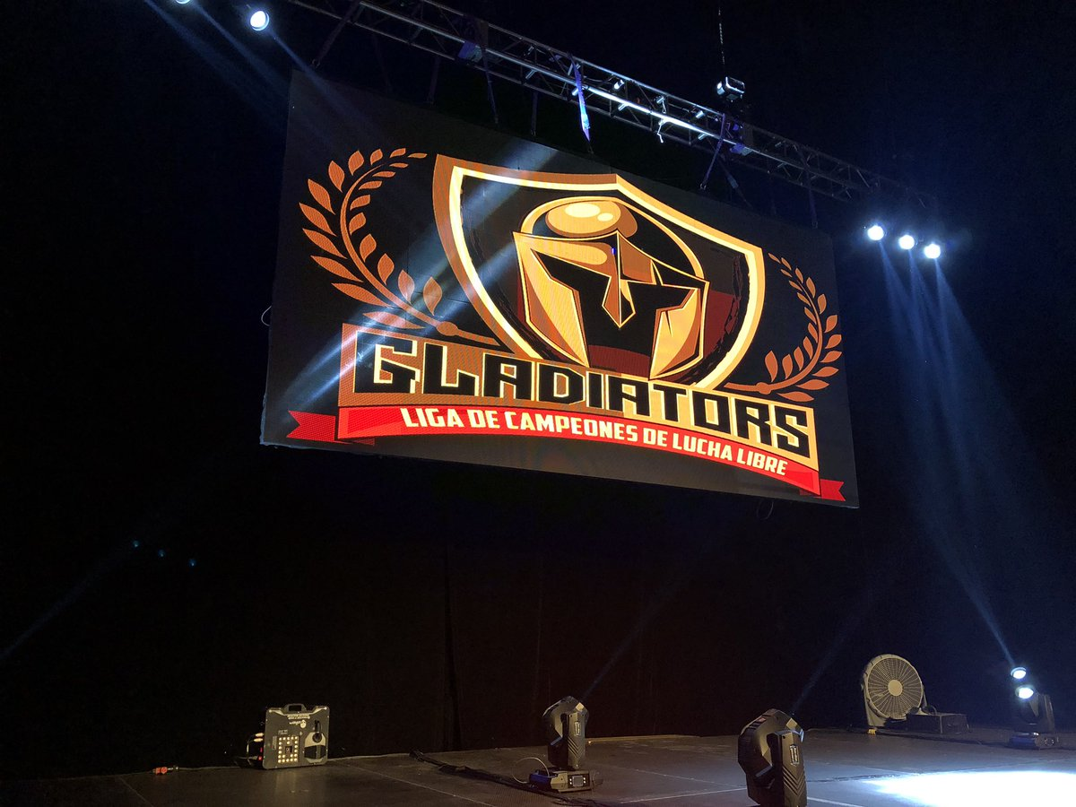 Iniciaron las acciones en Gladiators, en el Frontón México 1