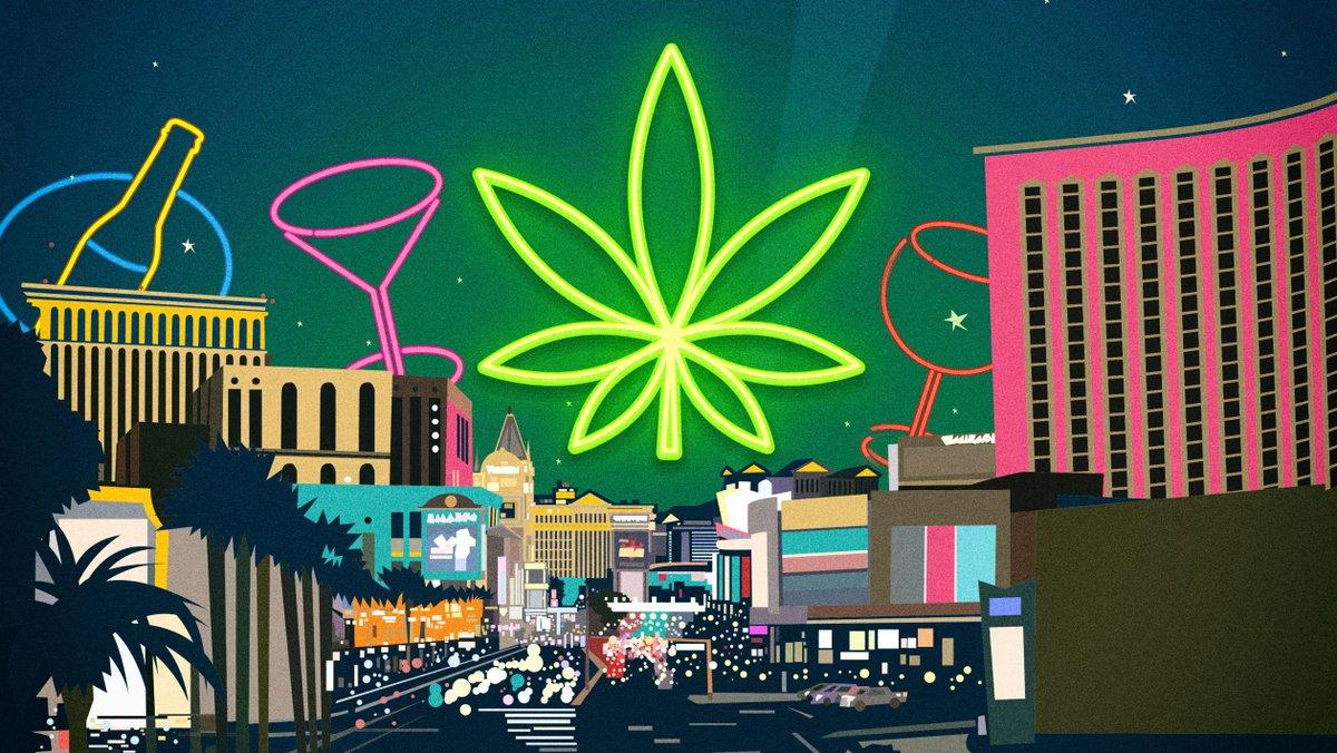 拉斯维加斯市议会通过合法开设大麻吧