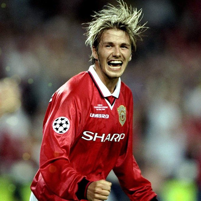 Happy birthday to a living legend, David Beckham  :