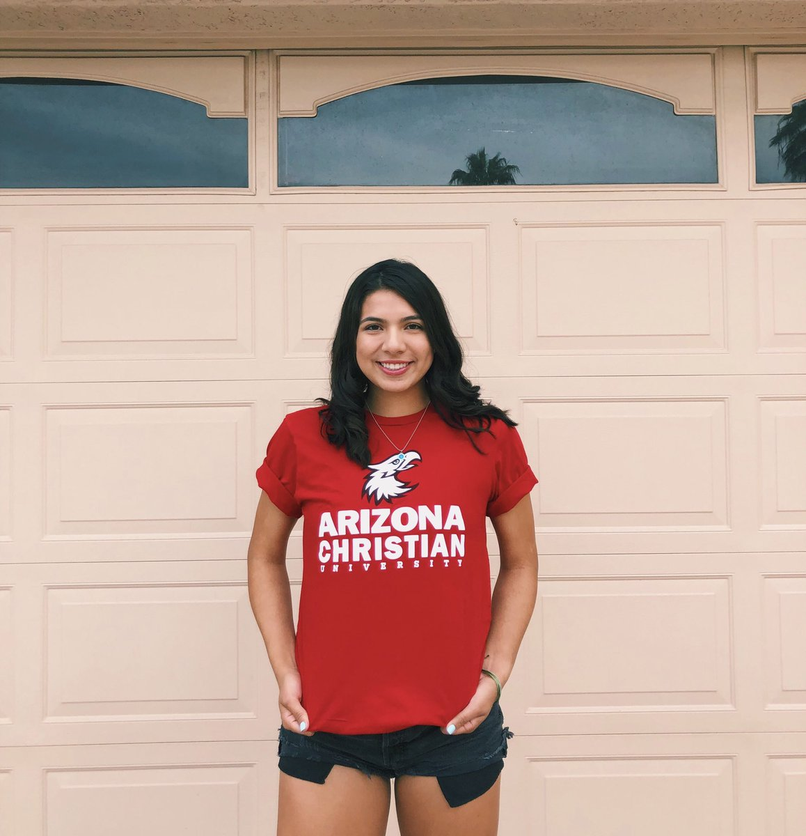 Excited to announce my commitment to continue my academic and basketball career at Arizona Christian University!🏀❤️💛 https://t.co/XO0fgXkKBU
