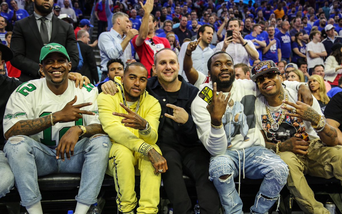 Philly in the house!!! #sixers #NBAPlayoffs – at Wells Fargo Center