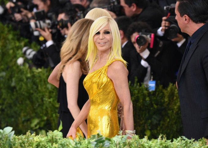 Happy Birthday to the the Queen of Versace! Donatella Versace turns 64! ( : Getty)