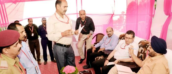 CEO Shrine Board conducts staff grievance redressal camp at Sanjichhat  #ceo #shrineboard #conducts #staff #redressal #camp #sanjichhat #katra #jammu  http://www.thenorthernherald.com/newsdetail/1146/jammu/ceo-shrine-board-conducts-staff-grievance-redressal-camp-at-sanjichhat …