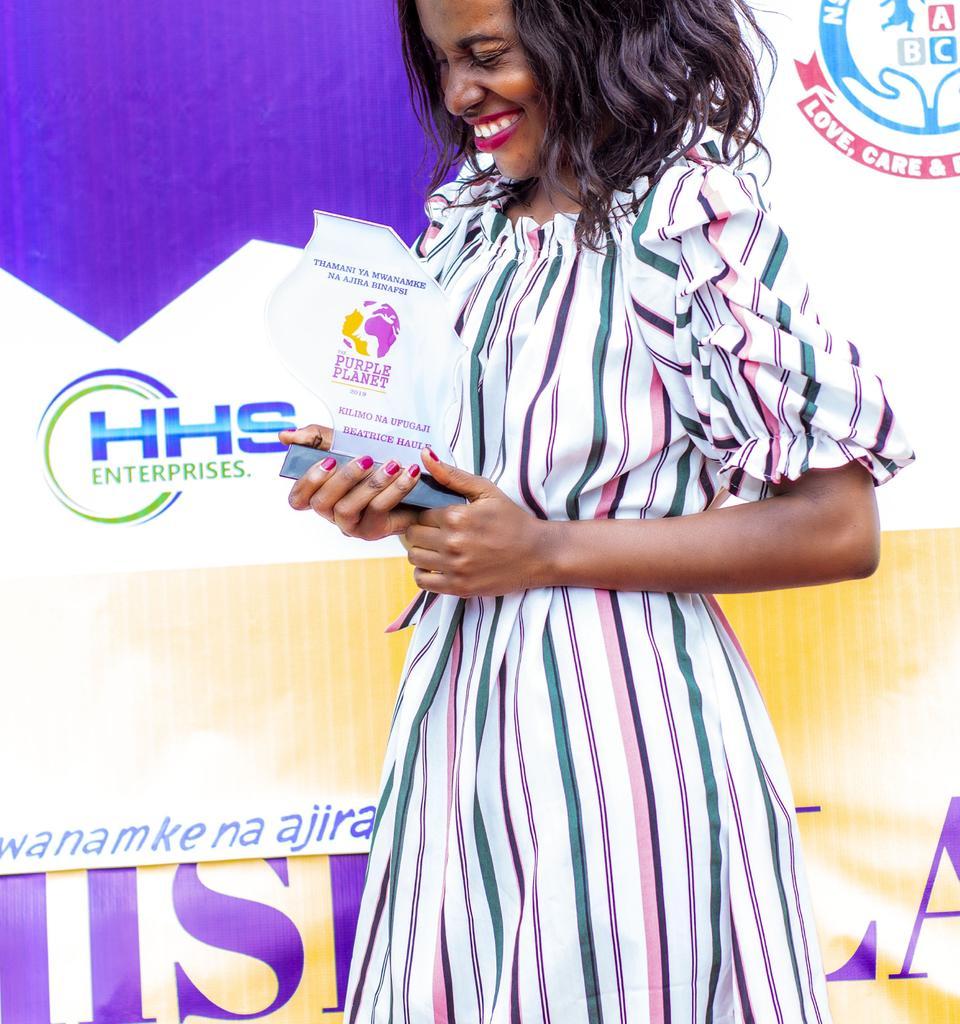 Agriculture is a secret Gold mine..#youthinagric#Awardfor womaninagric2019tz# @yemi_adeyeye @FAO @EAYouthInAgric @AimKazika @RugalemaGabriel