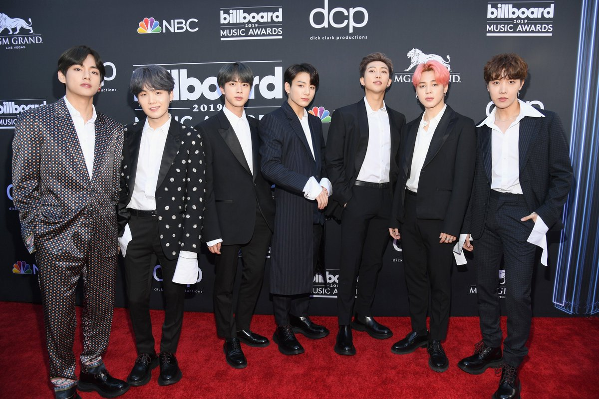 f8ef0a472 bts winner of the top social artist all wearing alexander mcqueen mens  ready to wear with