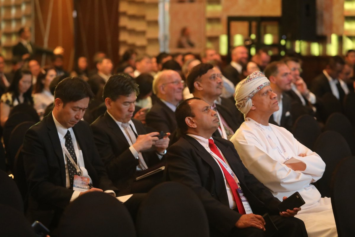 Day 2 of #AIRConventionAsia started! The forum was opened by Steven F. Udvar-Hazy talking airline landscape in Asia.